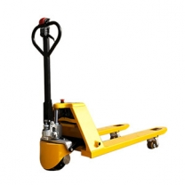 New spot walking semi electric pallet jack with easy effort to climb easily