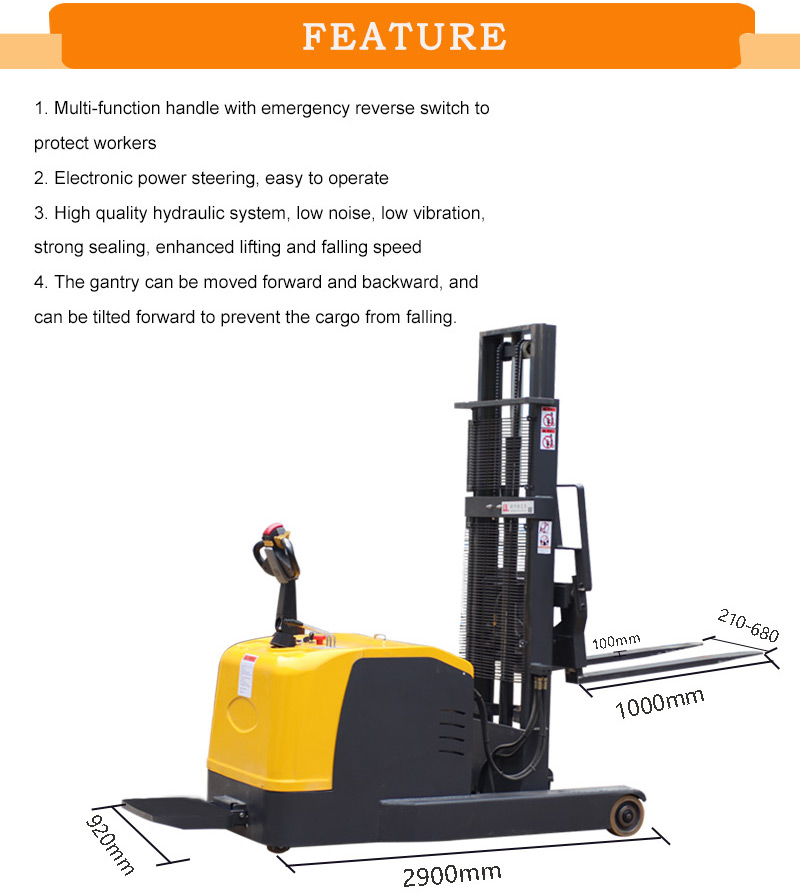 reach forklift for sale 1