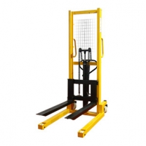 Standard upgrade 1.6M portable manual hydraulic stacker light lift stacker