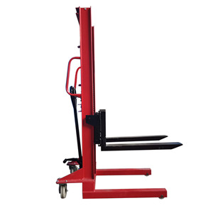 Manual hydraulic stacker with 2 tons of simple operation manual pallet stacker