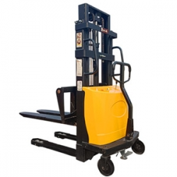 sufficient stock 1.5 tons of semi electric stacker electric lift stack