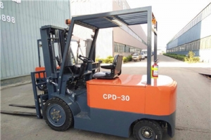 Instructions for use of electric forklift truck