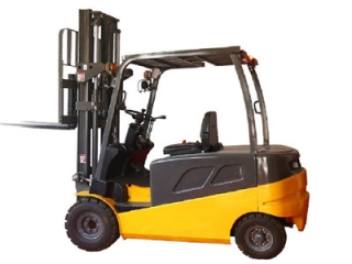 Certain operations are prohibited when using electric forklift truck?