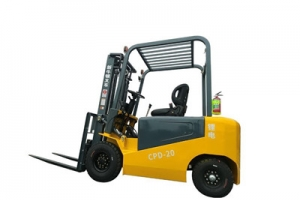 How to prevent the electric forklift truck from turning over?