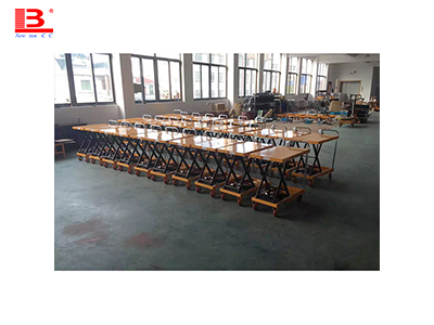 How many kinds of mobile lifting platforms can be divided into?