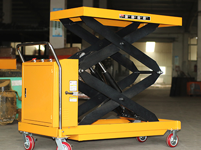 The working principle of electric fully automatic lifting platform truck