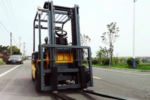 What should I do if the small electric forklift has expired?