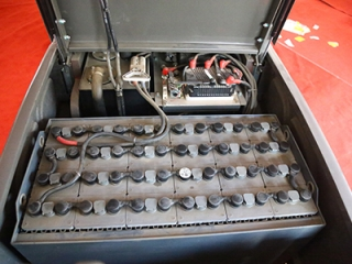 Why do small electric forklift batteries need to be added with distilled water?