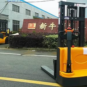 Electric forklift practical test project