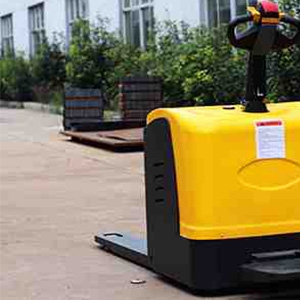 How to improve the work efficiency of double electric pallet jack